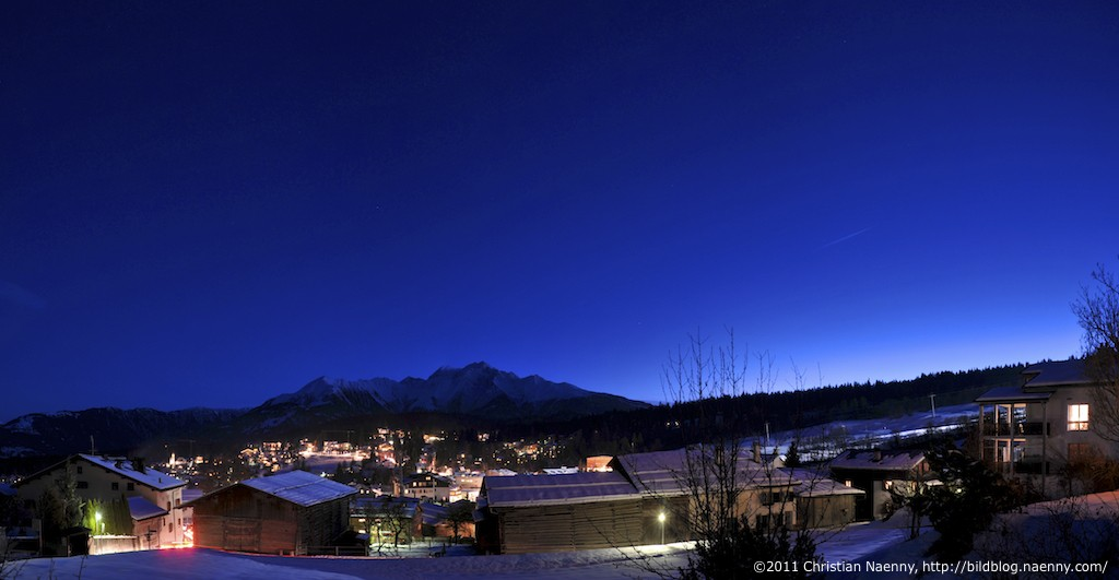 Flims by night